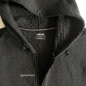 Hurley Thermal Hollowknit Full Zip Hoodie Jacket